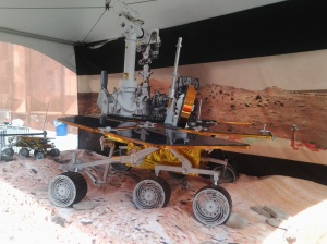 Model of Mars Rover at World Science Festival 2015.